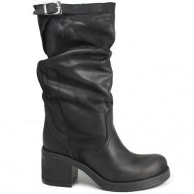 Biker Boots '58/M' - Black