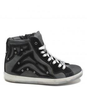 Sneakers Hidden Wedges '1046' - Gray
