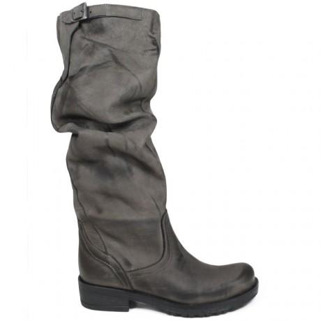 Biker Boots High 'Bik/A' - Gray