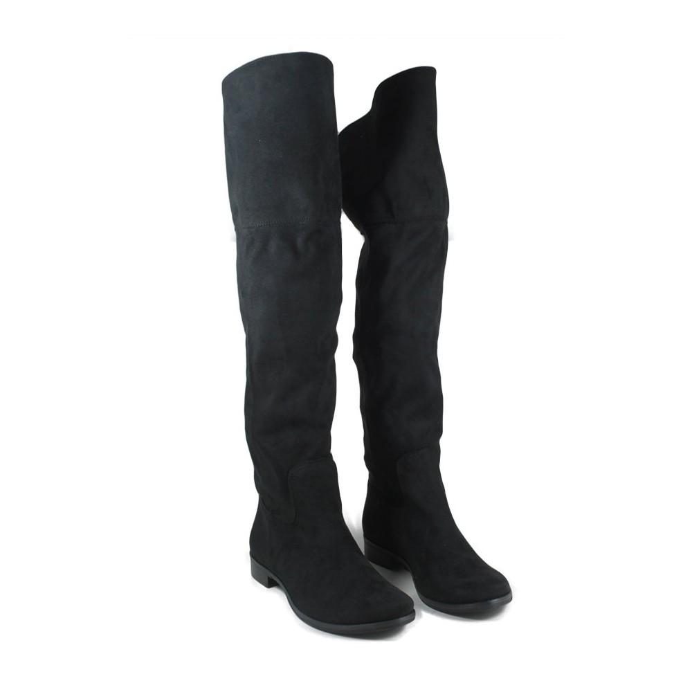 Stivali Cuissardes Sopra il Ginocchio Overknee Boots Stretch