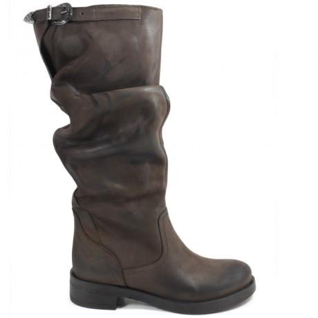 Biker Boots High 'Noa/A' - Brown