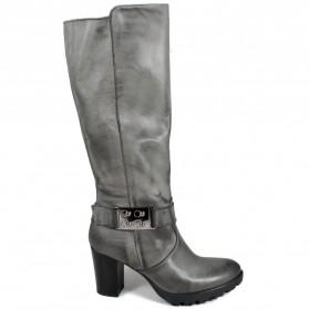 High Heel Boots 'GN21' - Gray