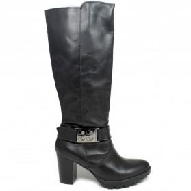 High Heel Boots 'GN21' - Black