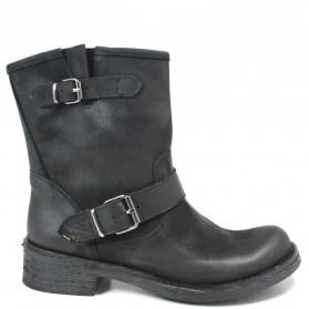 Low Boots Bikers '402' - Black