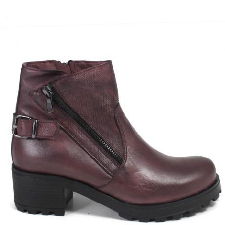 Low Women's Boots '091/A' - Bordeaux