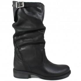 Stivali Biker Boots Estivi 'Soul/M' - Nabuk Nero